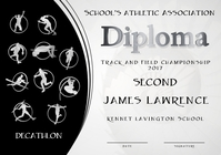 decathlon diploma second