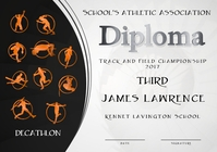 decathlon diploma third