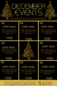 December Upcoming Events