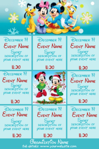 December Upcoming Events Disney