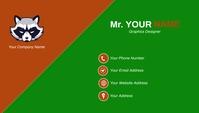 Decent Business Card Design Template