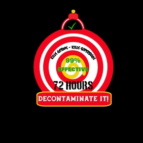 Decontaminate Clock