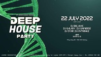 Deep House Party Electronic Music Event Party Psychedelic