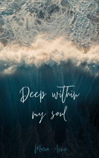 Deep Within my soul Sampul Buku template
