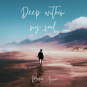 Deep Within my soul v2 album art template