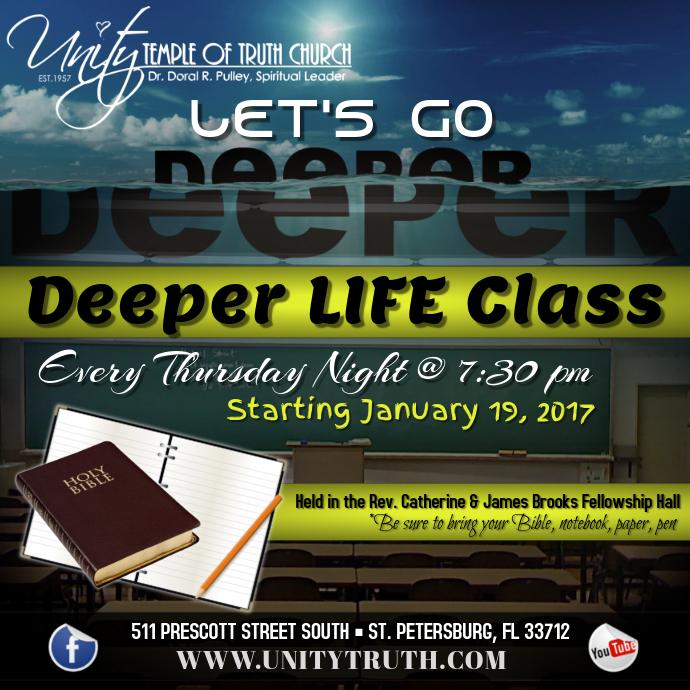 Deeper Life Class
