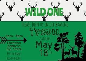 Deer Invitation