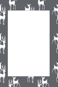 Deer Party Prop Frame