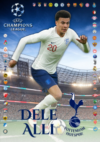 Dele Alli Tottenham Poster