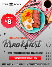 Delicious Breakfast Flyer