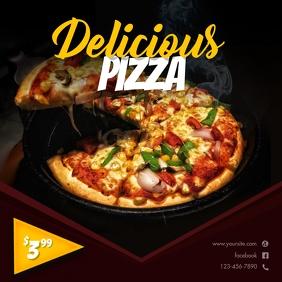 Delicious Pizza Instagram Template