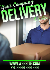 Delivery A5 template