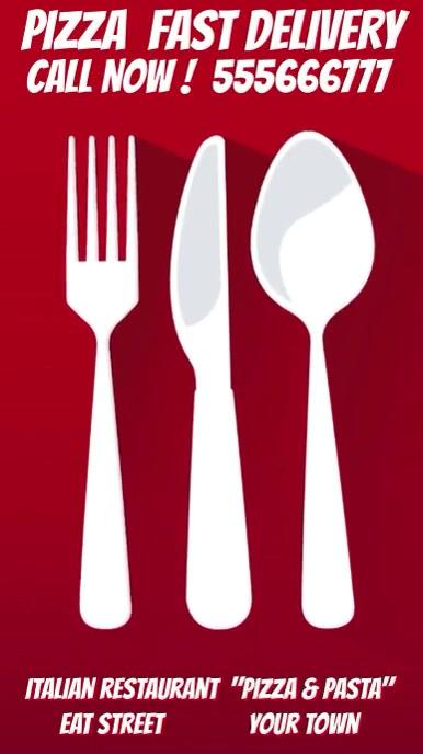 Delivery Food Restaurant 2020 Display VIDEO