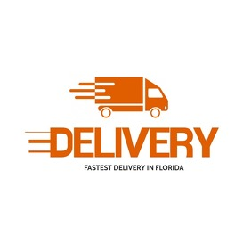 Delivery Logo Design template
