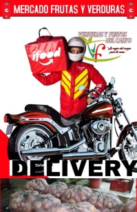 Delivery Marketing Tabloid template