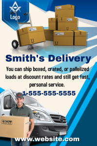 Delivery Service Template