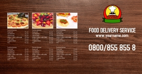 Delivery Service Price List Header Banner