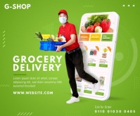 Delivery Sevices Ad Medium Rectangle template