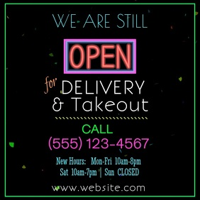Delivery/Takeout Video
