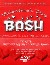 Delta Sigma Theta Valentine dance party ticket event