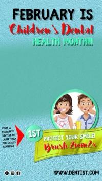 dental 2 Instagram-verhaal template