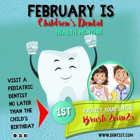 dental 3 Square (1:1) template