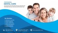 dental care clinic blog header post ส่วนหัวบล็อก template