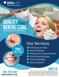 Dental Care Flyer (US Letter) template