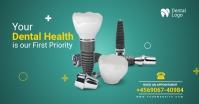 dental care Facebook Shared Image template