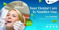 dental care flyer Facebook Ad template