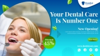 dental care flyer Digitalanzeige (16:9) template