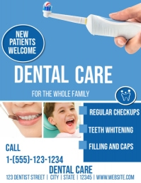 dental flyer templates
