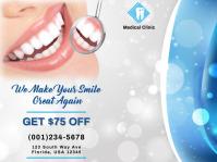 Dental Care Flyer Template Presentation