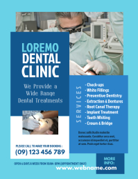Dental Clinic Flyer Template - 02
