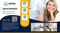 Dental Clinic Google Cover Video Sampul Facebook (16:9) template