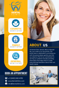 Dental Clinic Poster โปสเตอร์ template