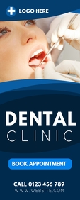 DENTAL CLINIC ROLL OUT BANNER