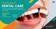 Dental Facebook Group Cover Photo template