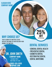 Customizable Design Templates For Dentist PosterMyWall - Dental brochure template