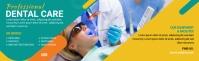 Dental LinkedIn Career Cover Photo template
