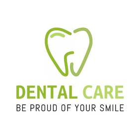 Dental Logo with a big tooth