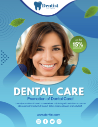 Dental Promotion Volante (Carta US) template