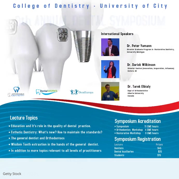 Dental Symposium Video