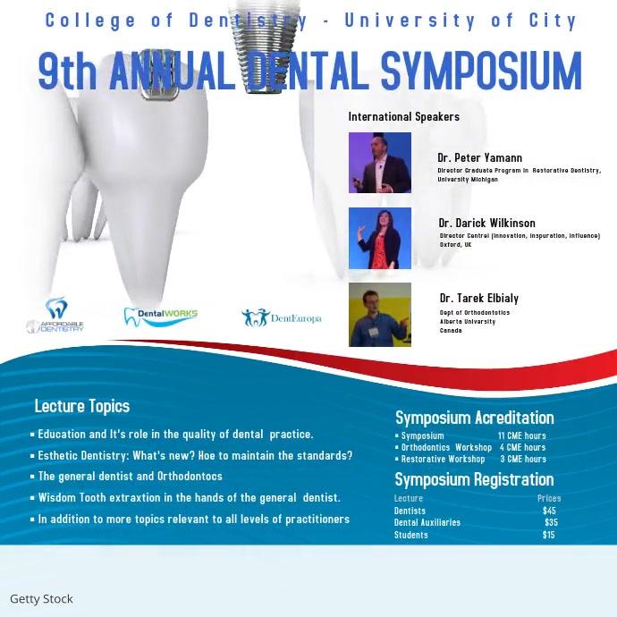 Dental Symposium Video