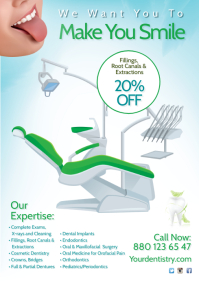Dentist Flyer A4 template