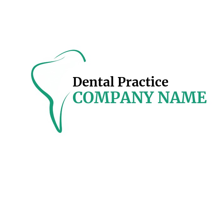 dentist logo dental practice logo Logótipo template