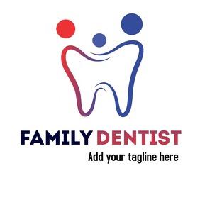 Dentist logo professional service