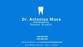dentist medical business card