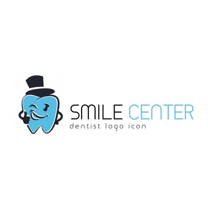 dentist medical studio icon Logotipo template
