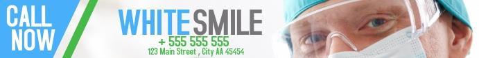 Dentist White Smile leaderboard design